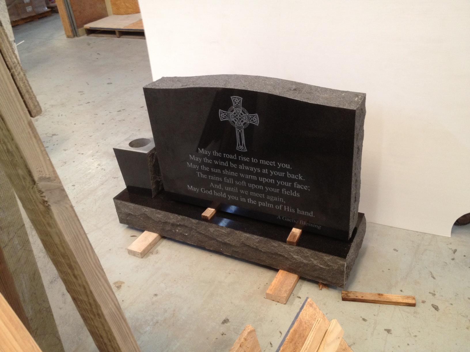 Custom Granite Headstones